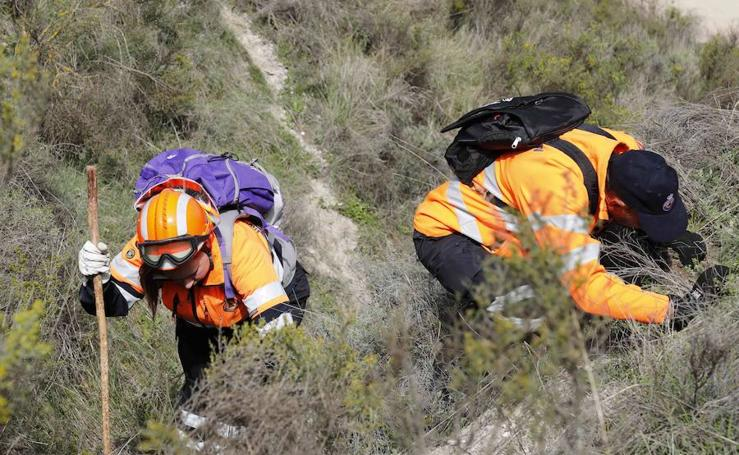 Voluntarios de Protección Civil se forman en la búsqueda de personas desaparecidas
