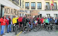 Los ciclistas se manifestarán contra las restricciones en Guadarrama el 13 de mayo