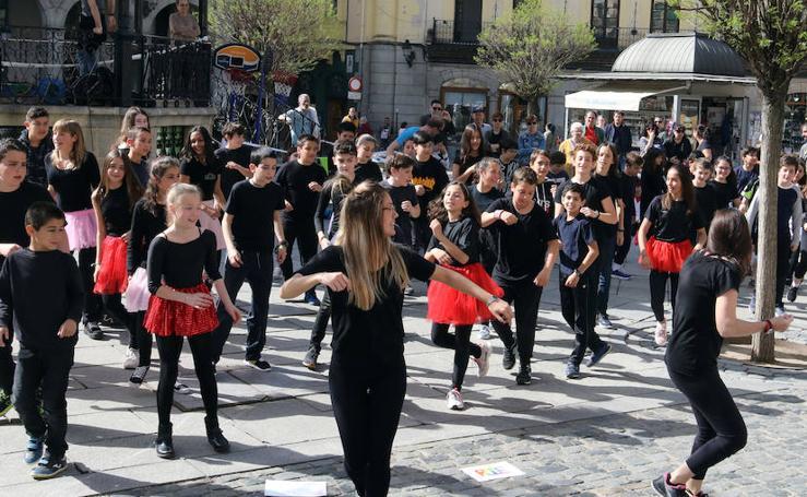 Celebración del Día de la Educación Física en Segovia