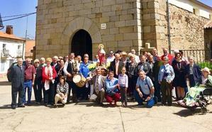Los vecinos de Cereceda de la Sierra y Cepeda rinden honores a San Marcos