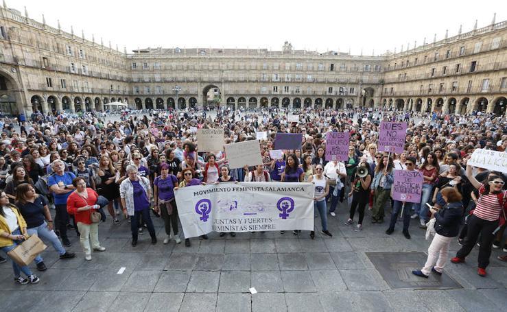 Salamanca se manifiesta contra la sentencia de la Manada