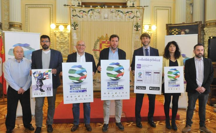 Presentación del XV Congreso Nacional de Peñas de fútbol que se celebrará en Valladolid