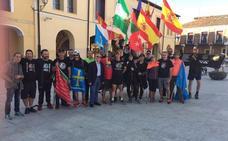 La marcha de policías y guardias civiles por la equiparación salarial, a su paso por Zamora