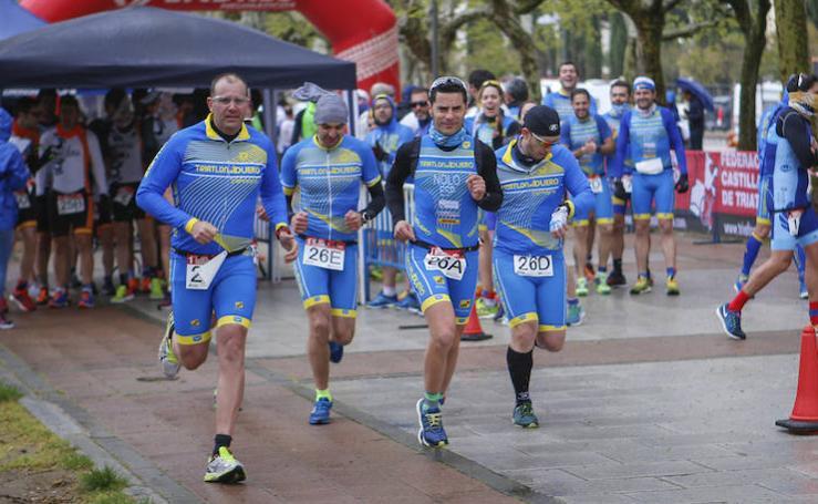 I Duatlón por equipos Grupo Andrés de Salamanca