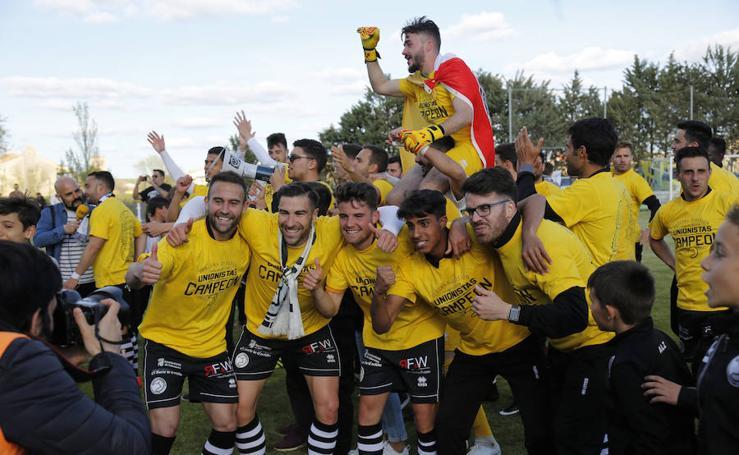 Unionistas, campeón de Tercera División