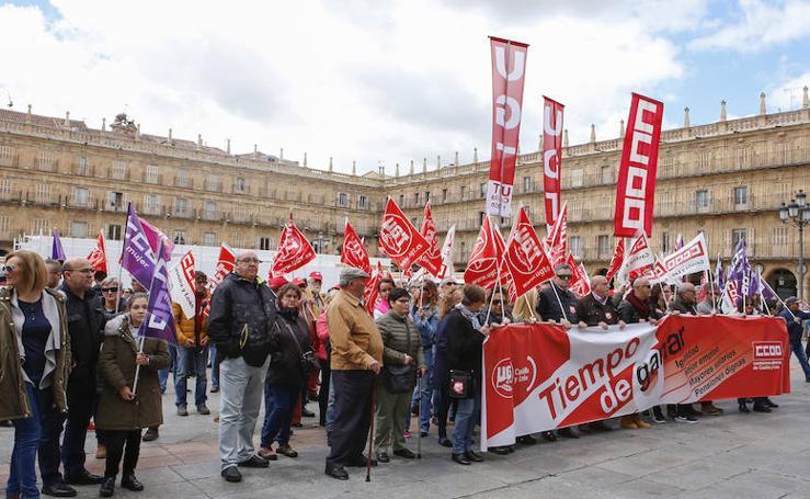 Manifestación del Primero de Mayo en Salamanca