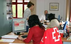 Cruz Roja contribuyó en 2017 a que 350 personas encontraran empleo