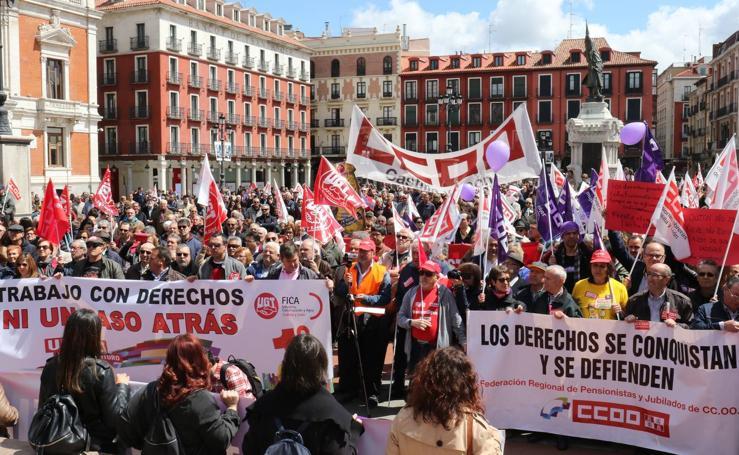 Manifestación del Primero de Mayo en Valladolid