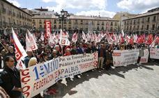 El bloqueo en la negociación de los convenios protagoniza el Primero de Mayo en Palencia