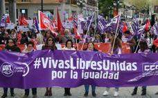 Mujeres y pensionistas, en primera línea del Primero de Mayo en Segovia