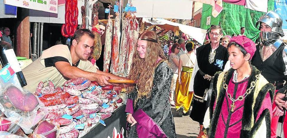 250 comerciantes se darán cita en el mercado renacentista de Medina