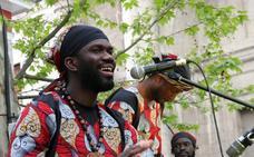 Pajarillos impregna la ciudad de cultura africana en su lucha por la integración social