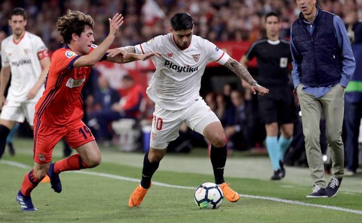 Las mejores imágenes del Sevilla-Real Sociedad