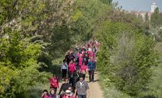 41 Marcha Asprona: 22 kilómetros de zancadas rosas por la inclusión social