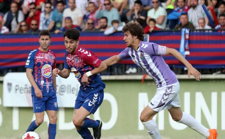 Derrota de la Segoviana ante el Valladolid B (0-1)