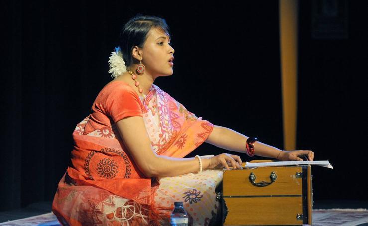 Concierto de Baishali Sarkar en la Casa de La India