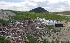 Ganemos inicia una campaña contra las escombreras en Palencia