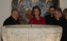 La reina Sofía inaugura Las Edades del Hombre en Aguilar de Campoo