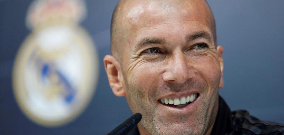 Zidane: «La Liga es lo más difícil, pero la Champions es la hostia»