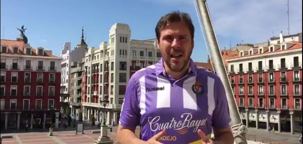 El alcalde valora dedicar una calle al Real Valladolid