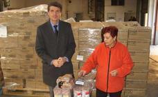 Más de 500 familias reciben los lotes del programa de ayuda alimentaria