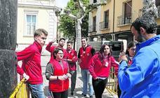 Cruz Roja de Palencia reivindica el papel de la juventud