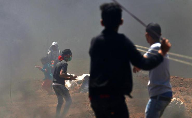 Un día sangriento en Gaza