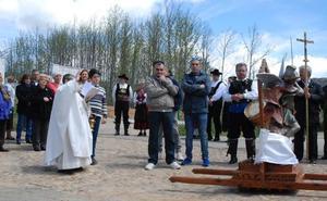 Bendición de campos por San Miguel en Monforte y San Miguel de Robledo