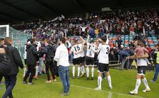 El CF Salmantino es de play-off