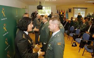La Guardia Civil elogia en sus 174 años la «cohesión» con la sociedad palentina