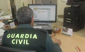 Investigado un menor por receptación de un móvil robado en Palazuelos