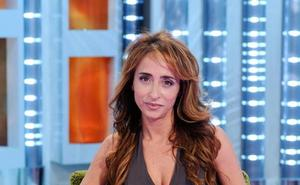 María Patiño abandona el plató de Sábado Deluxe llorando