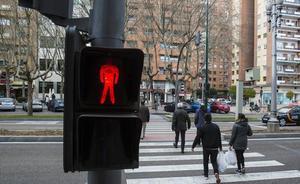Comienza la campaña 'Camina con seguridad' para concienciar a los peatones vallisoletanos