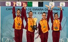 Valeria Carballo logra el oro con Castilla y León en el Nacional de Edad Escolar