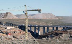 Alteraciones de tráfico por la construcción del arco del viaducto de la SG-20