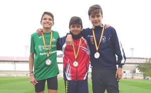 El CAV suma 12 medallas en el autonómico de Soria