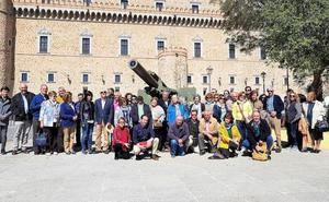 Los bejaranos se reencuentran en Toledo con los cañones de 1868