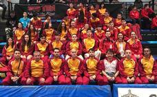 Protagonismo salmantino con la selección regional en el exitoso Nacional de Marín