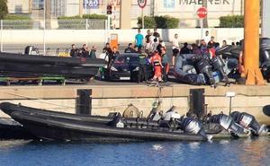 Muere un menor tras ser arrollado por una lancha de recreo en Algeciras