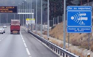El radar del Alto del León dispara en Segovia las denuncias por velocidad