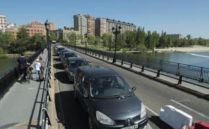 El largo trayecto de Poniente al Puente Mayor en Valladolid
