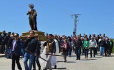 San Isidro se pasea por la provincia de Valladolid