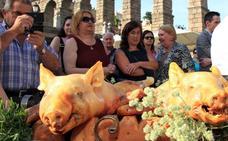 Más de 40 restaurantes participarán en la Fiesta de Exaltación del Cochinillo
