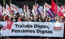 Concentración en Valladolid en defensa de unas pensiones dignas