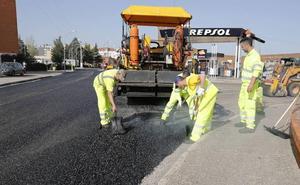 El segundo plan de asfaltados de Palencia llegará a 47 calles y 9 caminos