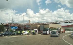 Colisión múltiple en la A-601 a la altura del polígono de San Cristóbal de Valladolid