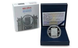 La Fábrica de Moneda acuñará piezas conmemorativas del VIII centenario