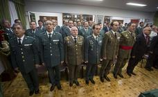 Acto conmemorativo del 174 aniversario de la Guardia Civil en Valladolid