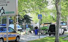 Las obras de Padre Claret y de la SG-20, causa de las retenciones de tráfico en el centro de la ciudad