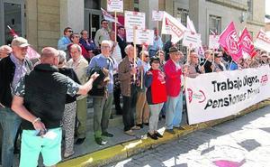 Los jubilados retoman las concentraciones para exigir al Gobierno pensiones dignas